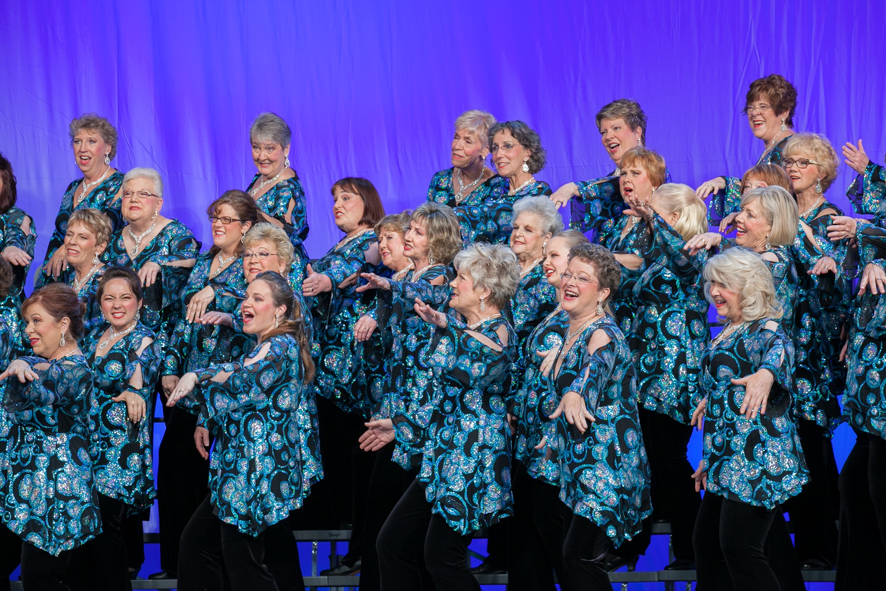 City of Lakes Sweet Adelines Chorus in performance